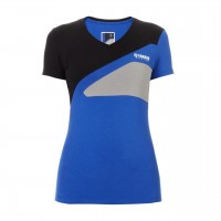 Damski T-shirt Yamaha Paddock Blue Race