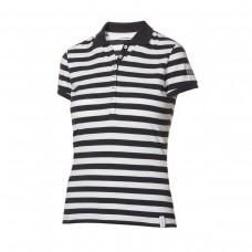 Damska koszulka polo w paski Marine Casual blue/white