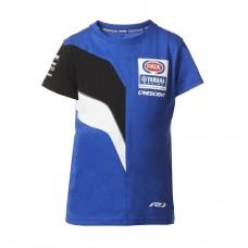 Dziecięcy t-shirt zespołu Pata Yamaha WorldSBK