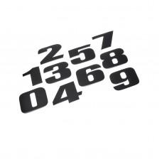 Zestaw naklejek numerowych