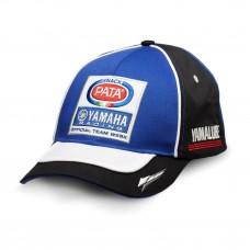 Replika czapki z logotypami zespołu Pata Yamaha WorldSBK